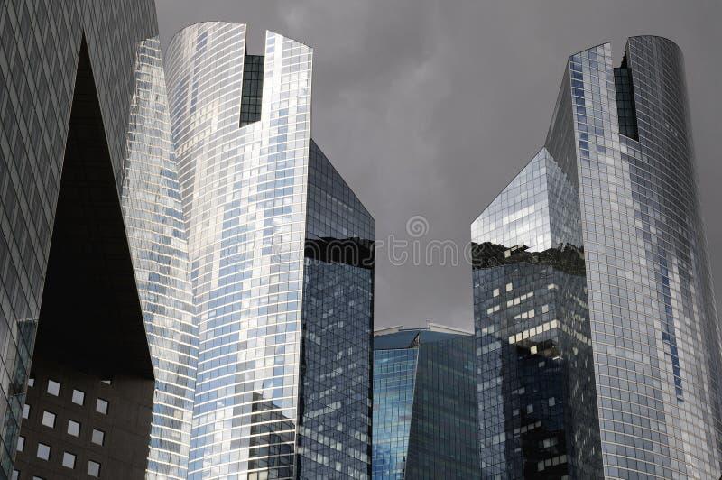 6 зданий самомоднейших стоковые фото