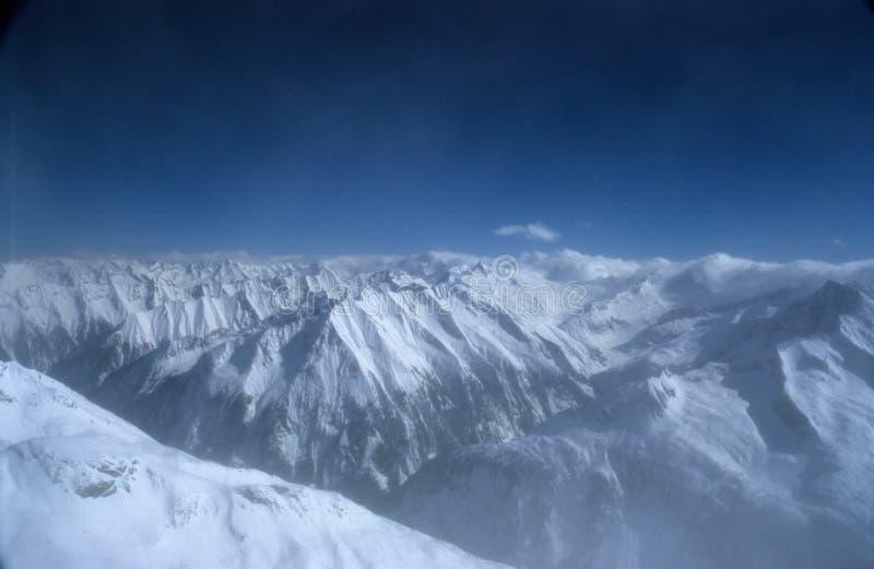 6 Alps австрийских Стоковые Фотографии RF