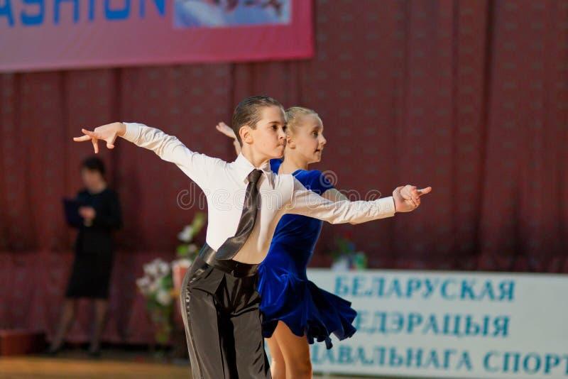 6 Belarus Dan młodzieżowy Minsk Listopad niezidentyfikowany zdjęcia stock