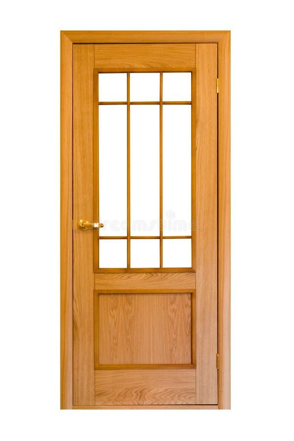 6 drzwiowych drewniane zdjęcia stock