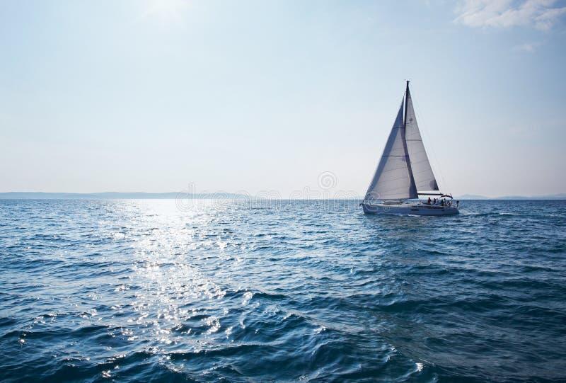 6 jacht zdjęcie stock