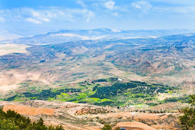 6 Jordan góry nebo widok obraz stock