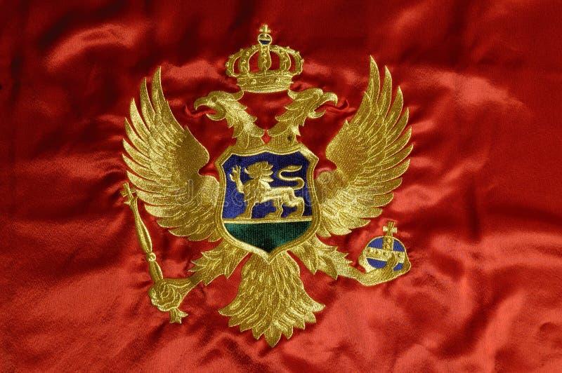 6 montenegrian的标志 免版税图库摄影