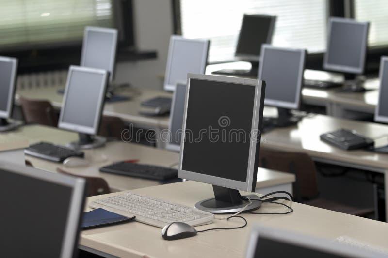 6 sala lekcyjna komputer zdjęcia stock