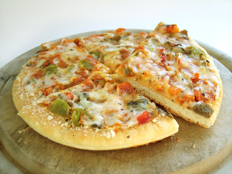 6 Veggie Pizza 3 (path Included) Stock Images