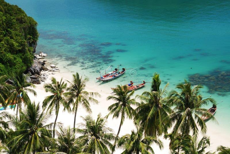 6 wyspy angthong ko to obraz royalty free
