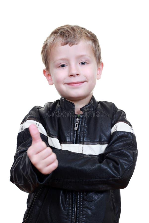 6 years old boy stock photo