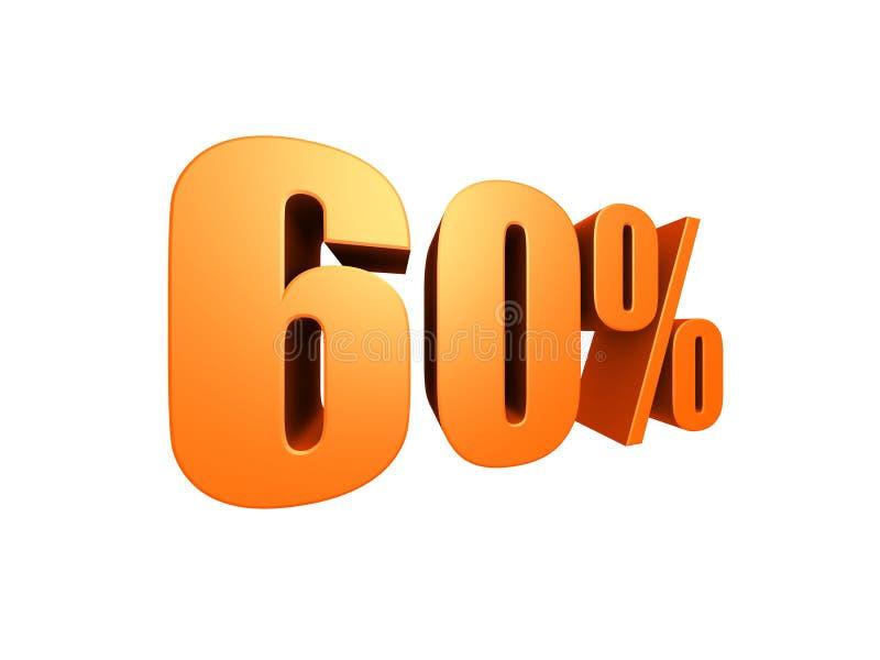 60 % stock illustration