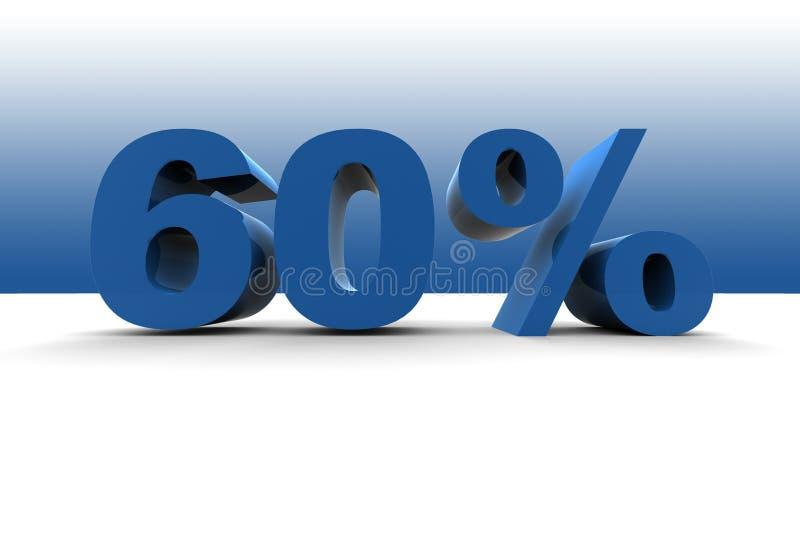 Download 60% stock illustration. Illustration of percentage, payment - 5537037