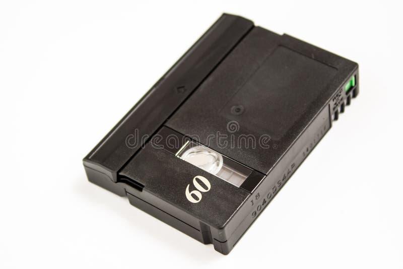 60 mini DV mínimos fotografia de stock