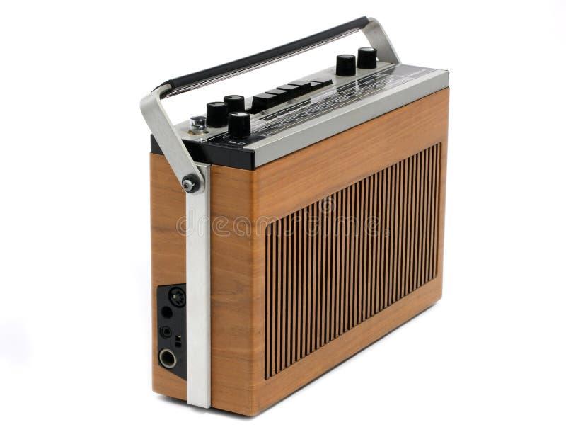 60s 70s design radio retro transistor στοκ φωτογραφία