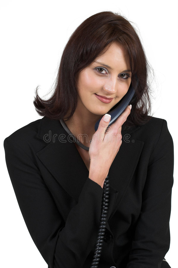 61企业夫人 免版税库存图片