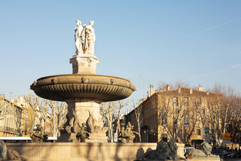 61 en aix - Provence zdjęcia royalty free