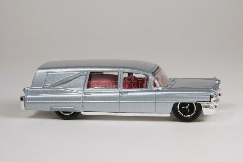 '63 Cadillac-Leichenwagen stockfotografie