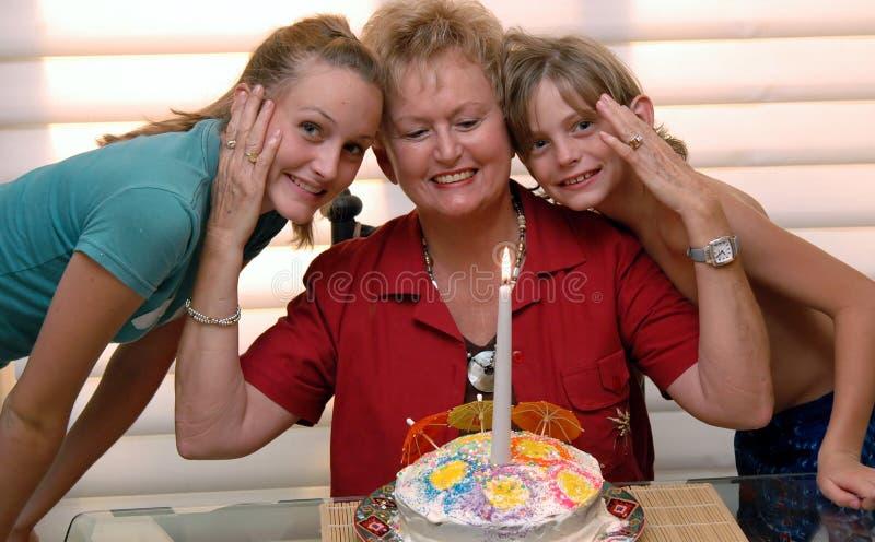 66ο grandma s γενεθλίων στοκ φωτογραφία