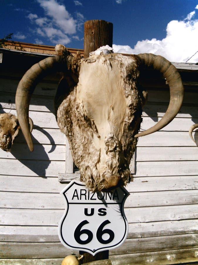 66亚利桑那途径美国 免版税库存图片