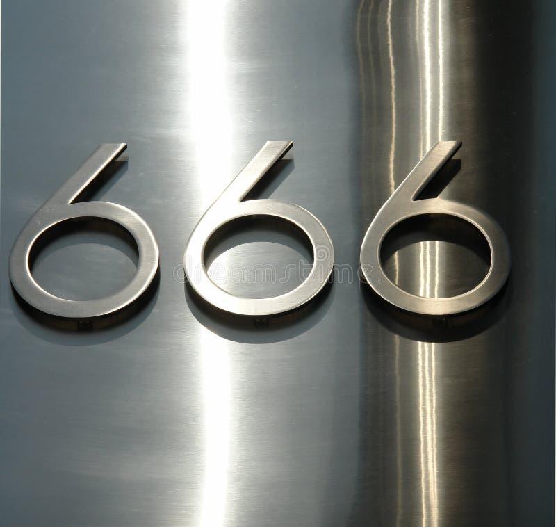 666 arkivbilder
