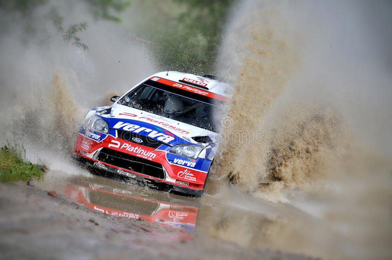 Download 66th Rally Poland 2009 - Krzysztof Holowczyc Editorial Photography - Image: 20176397