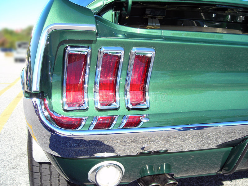 Download 67 Ford Mustang Taillight Stock Image - Image: 1801581