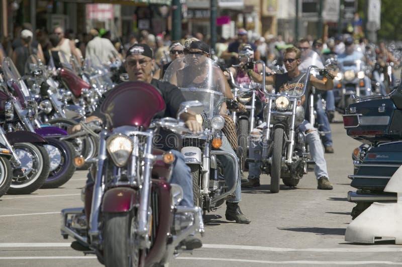 67th Reunião anual da motocicleta de Sturgis, imagens de stock