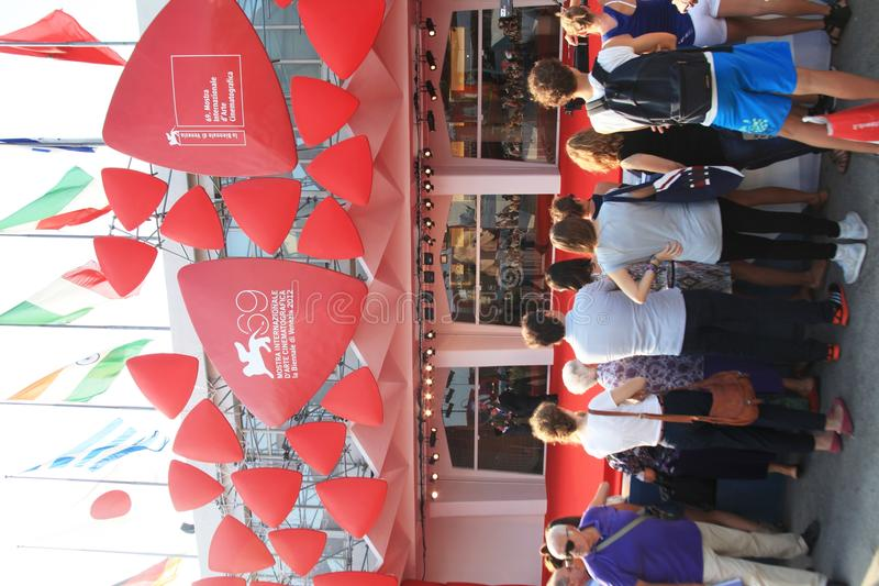 69th Venice Film Festival Editorial Photography