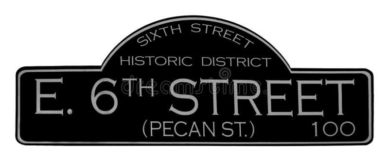 6de Straat in Austin Texas royalty-vrije stock afbeelding