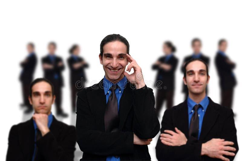 7企业小组 库存照片