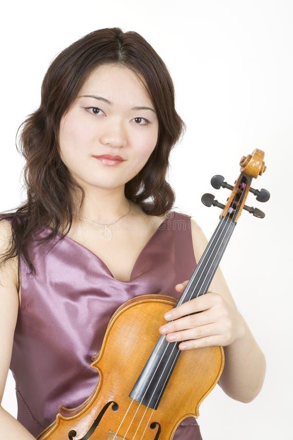 7小提琴手 免版税图库摄影