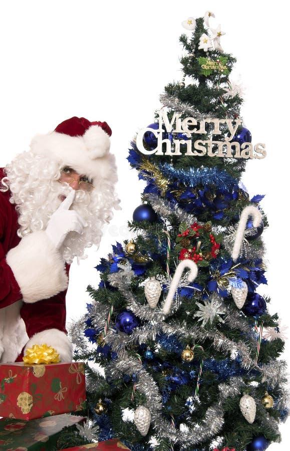 7礼品圣诞老人 图库摄影