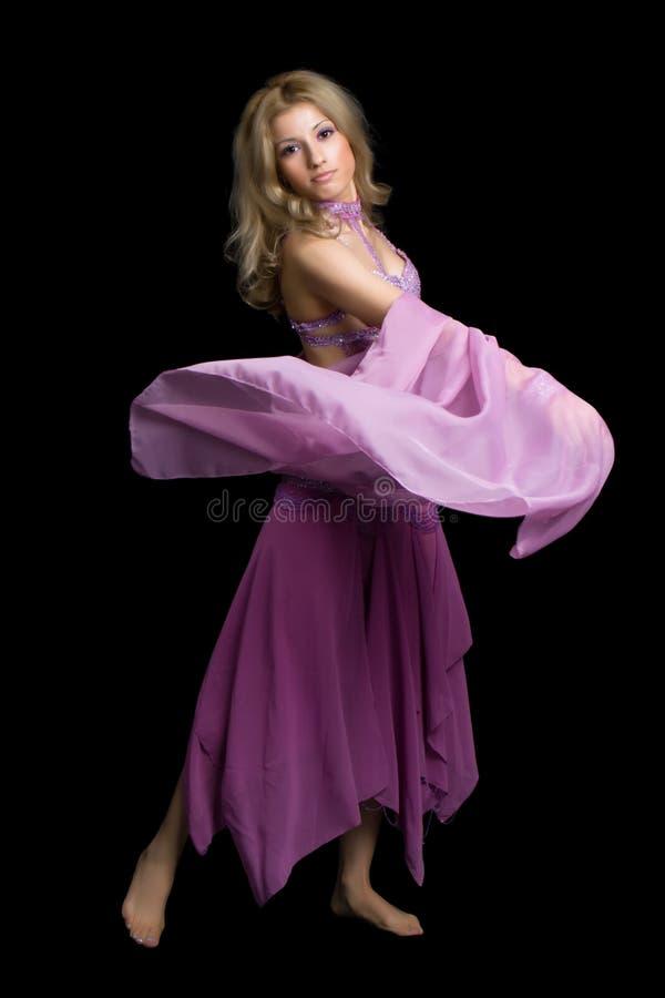 7舞蹈 库存图片