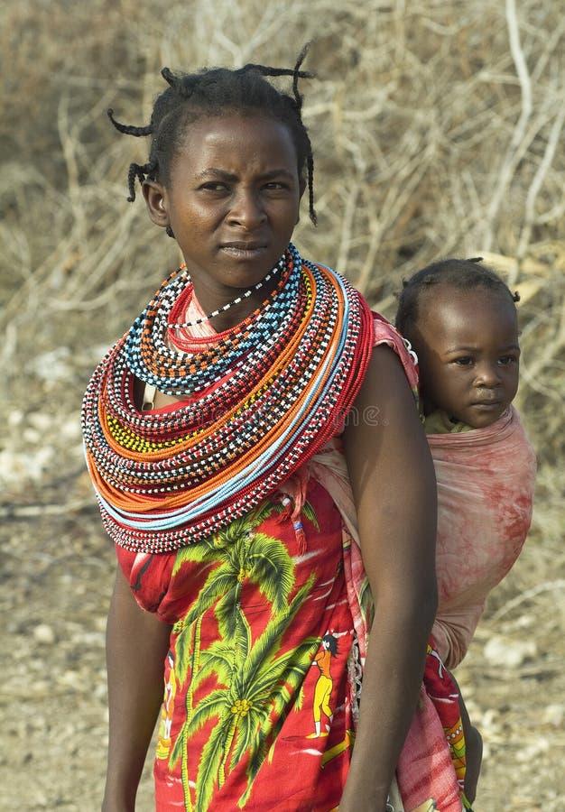 7非洲人 库存图片