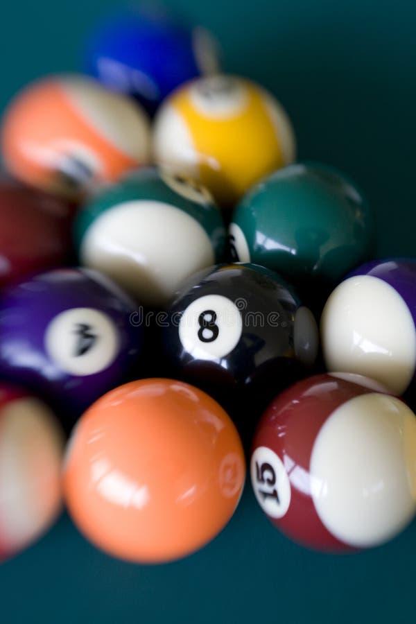 7 σφαίρα οκτώ στοκ φωτογραφία