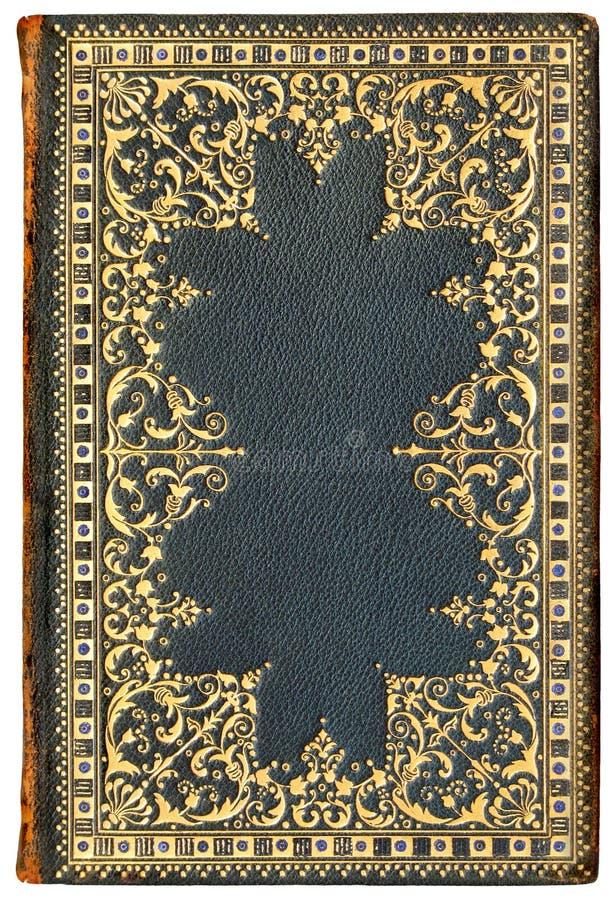 7 100 1901 tappning för bokomslagupplagafransman royaltyfria bilder
