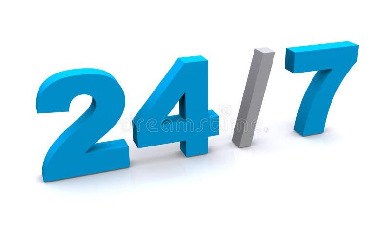 7 24 向量例证