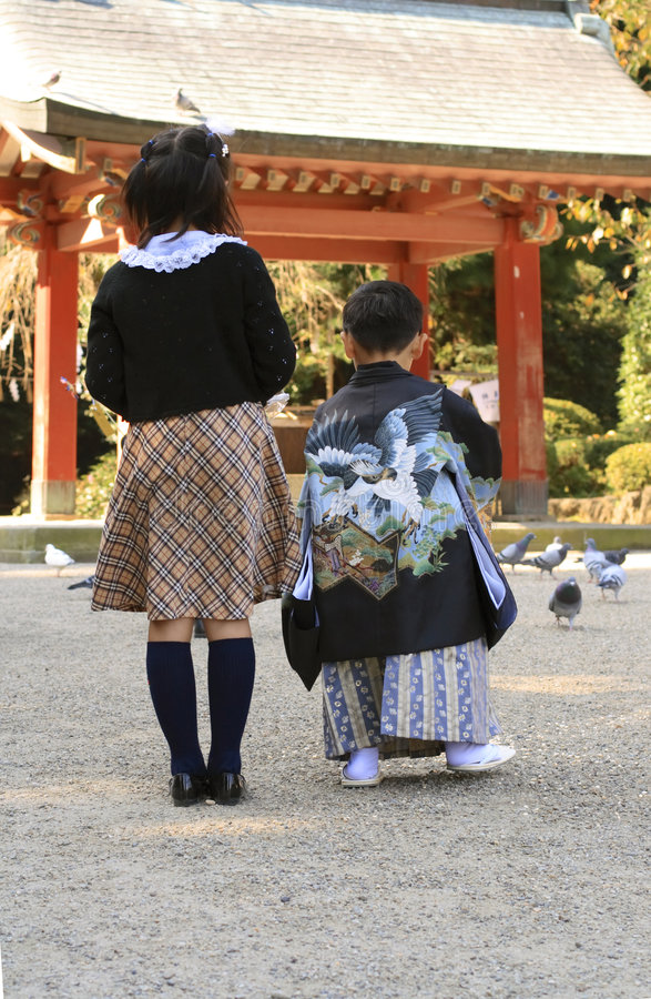 Download 7,5,3 (Shichi-go-san)-feeding Editorial Photo - Image of child, japanese: 1477931