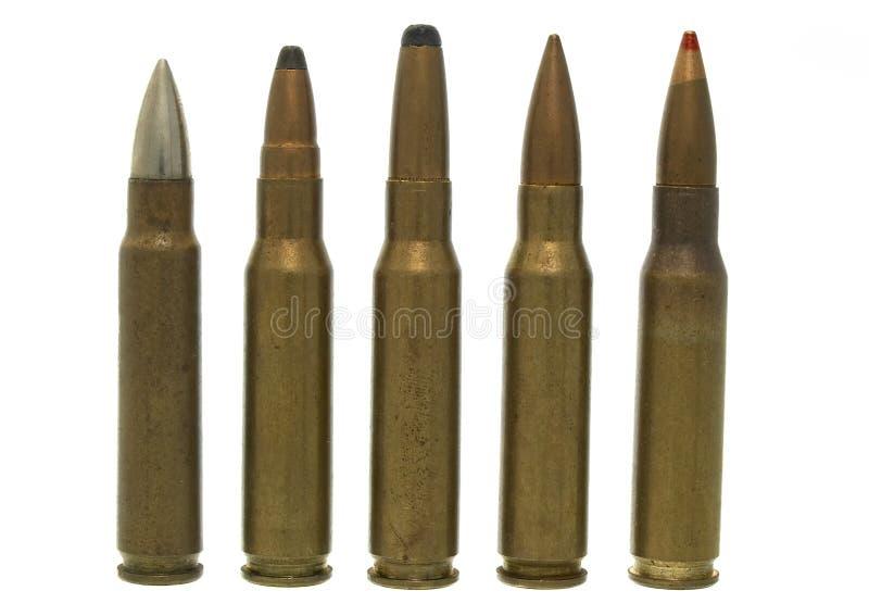 7 51 62 x изолированный боеприпасыами стоковые фотографии rf