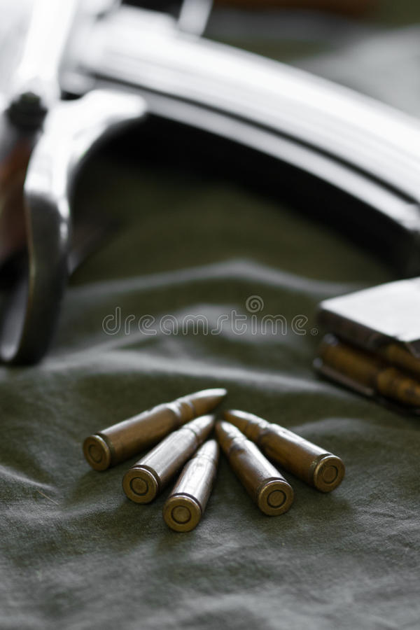Download 7.62 Caliber Bullets For Rifles Stock Photo - Image: 25911606