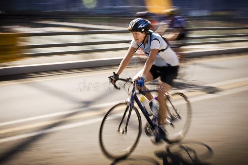 7 94 wyzwań cyklu cyklista fotografia royalty free