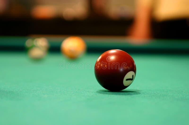 7 ball zdjęcia stock