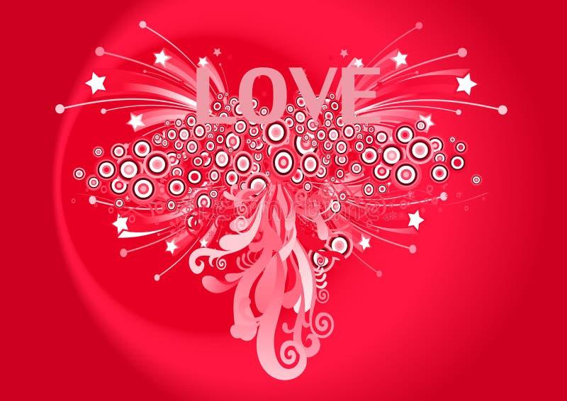 7 byli mój valentine royalty ilustracja