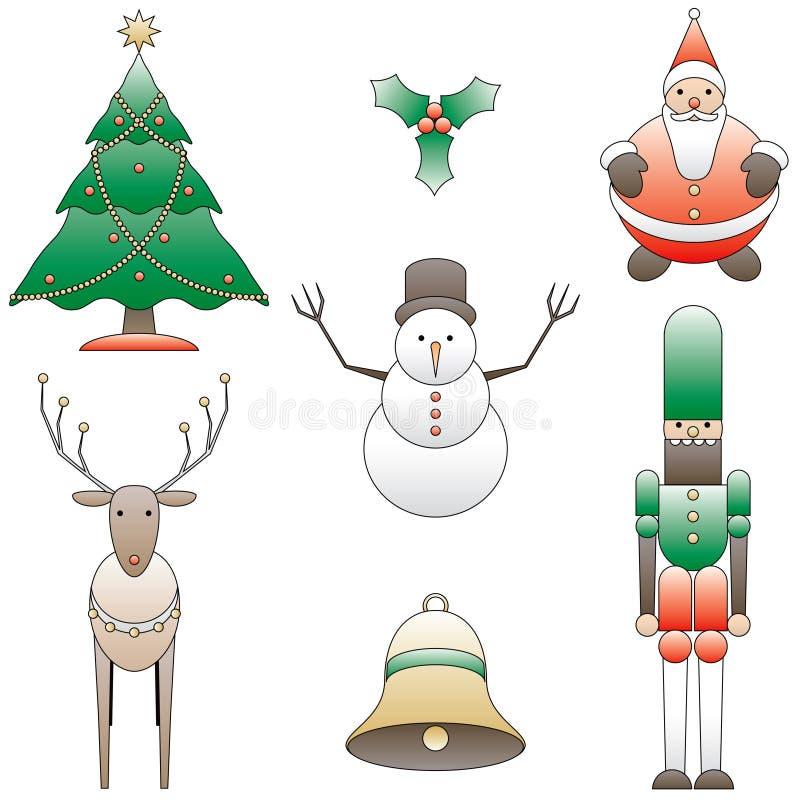 Free 7 Christmas Dingbats Stock Photo - 3352420