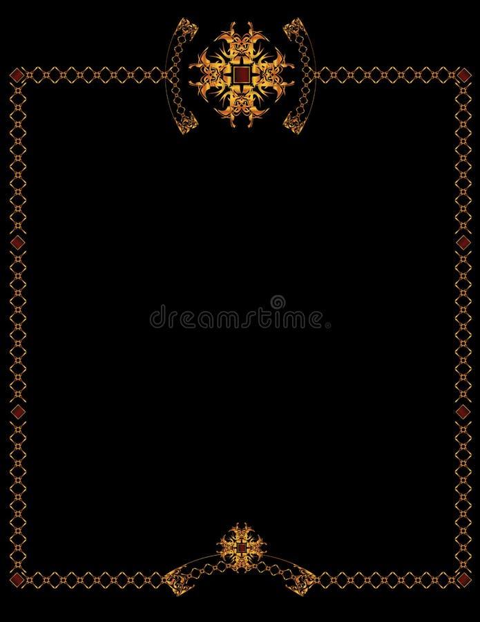 7 elegancki tła złoto ilustracja wektor