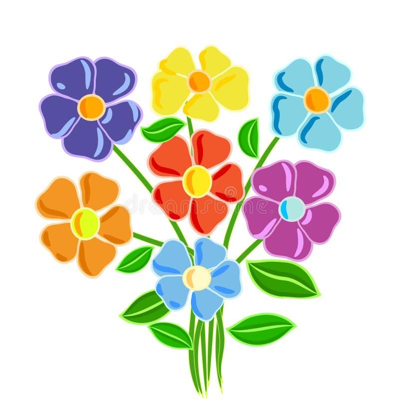 7 flower2 ilustração royalty free