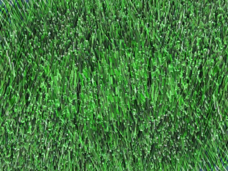 7 green trawy ilustracja wektor