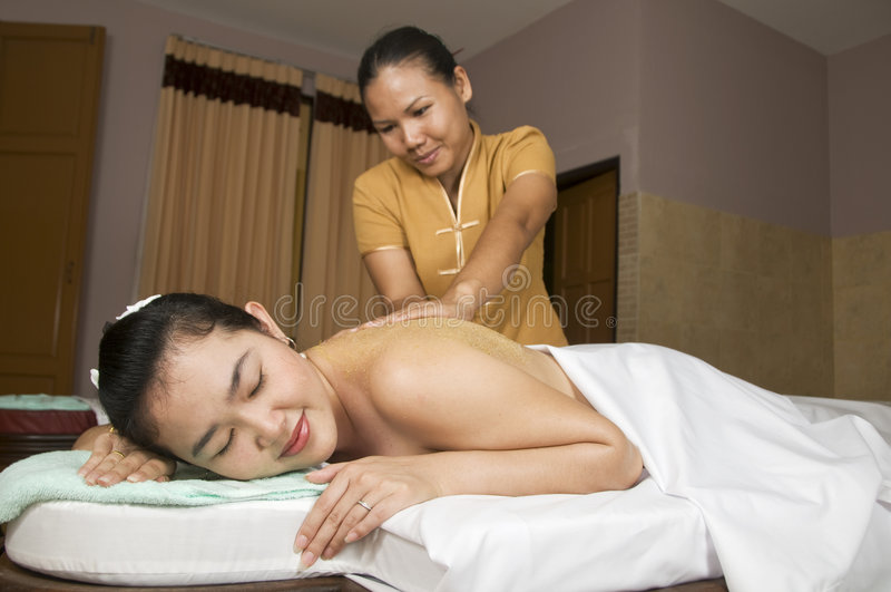 7 masaż tajlandzki fotografia royalty free