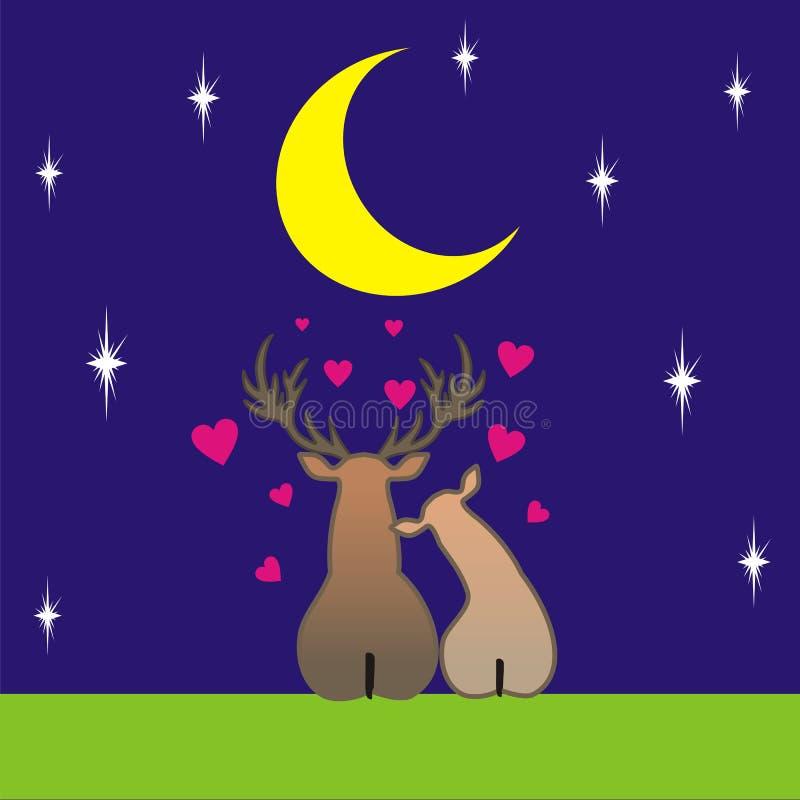 7 miłość ilustracji
