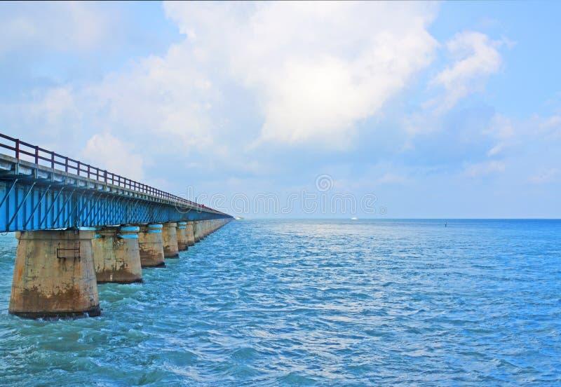7 Mile Bridge. In Keys royalty free stock photos
