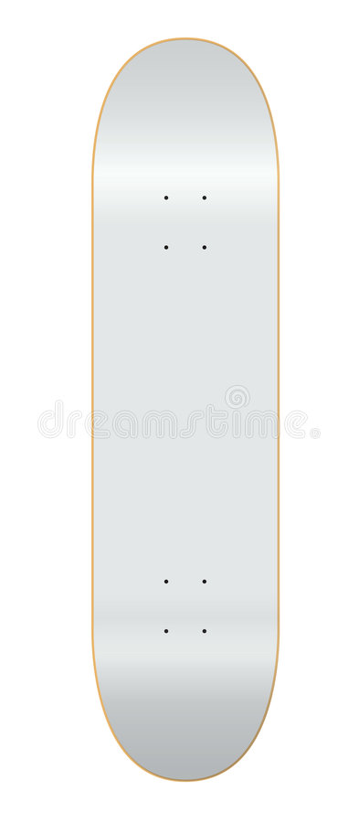 7 skateboard 75 γεφυρών πρότυπο απεικόνιση αποθεμάτων