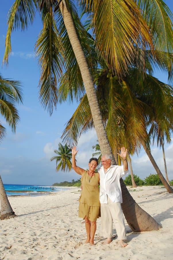 7 szczęśliwych seniorów zdjęcia royalty free