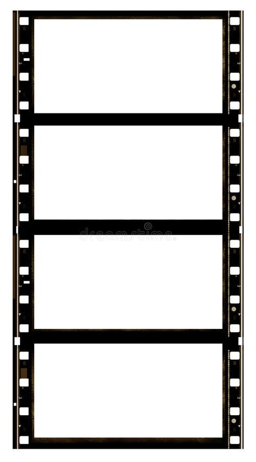 70 filmmillimetrar film royaltyfri illustrationer